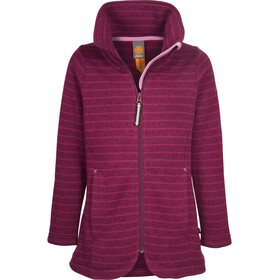 Elkline Fee Fleece Jacket Girls Berry
